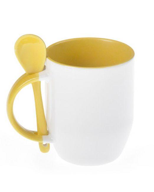 Customized-Inner-Handle-Color-Spoon Mug