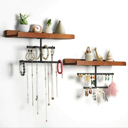 Wall Mounted Hanging Jewelry Organizer