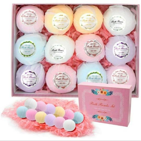 Bath Bomb Gift Set, 12 PCS
