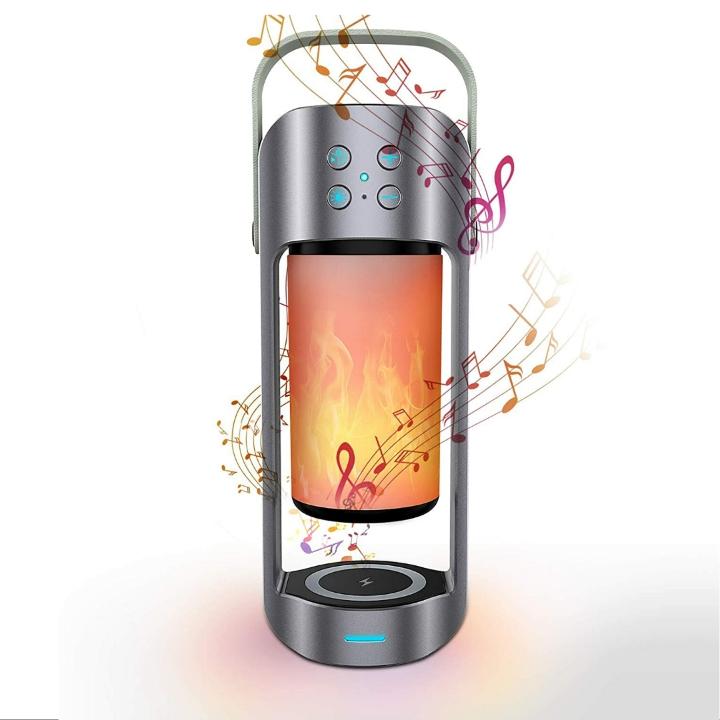 KKUYI Portable Wireless Bluetooth Speaker & Night Light