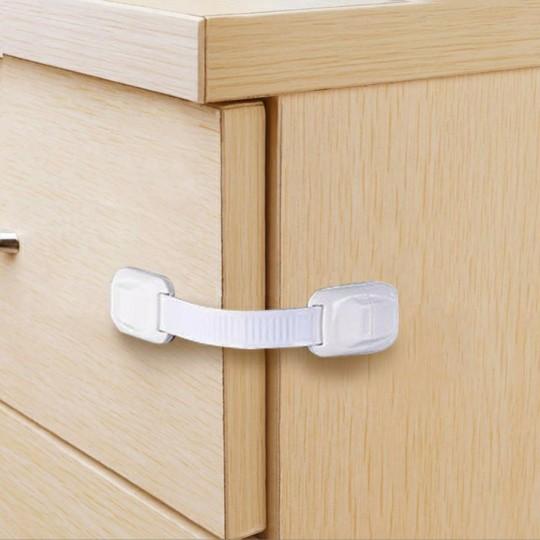 Cabinet Locks for Babies, Child Safety Strap Locks (4 Pack)
