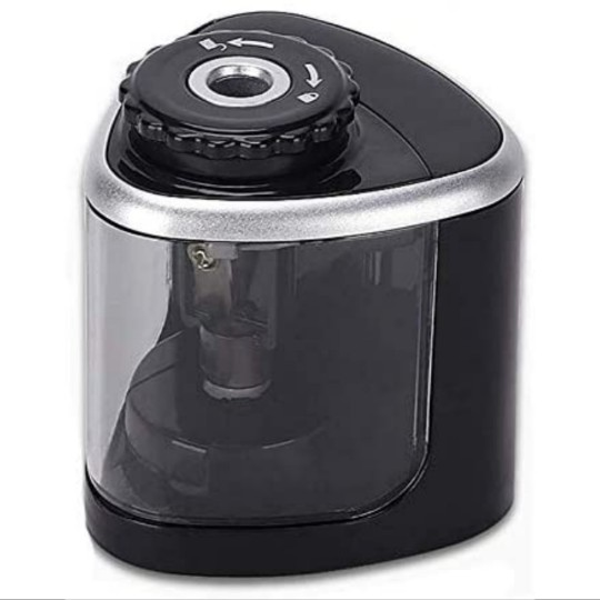 Battery-Powered Electric Pencil Sharpener