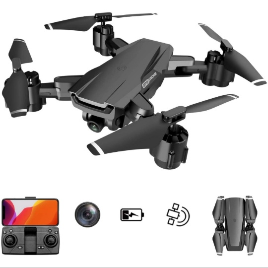 GPS Drone w/ 4K UHD Camera, 5G WiFi & Auto Return Home & Follow Me Modes